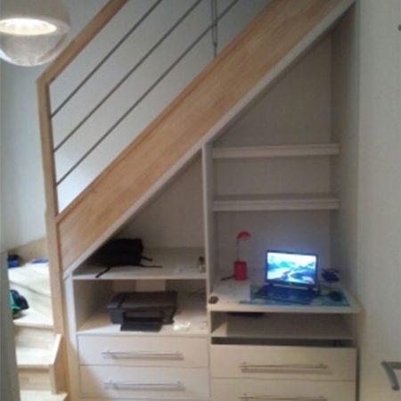 Aménagement-sous-escalier---Menuiserie-intérieure